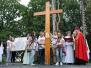 Powitanie znaków Światowych Dni Młodzieży, Garbów