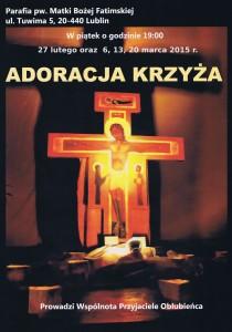 adoracja krzyza