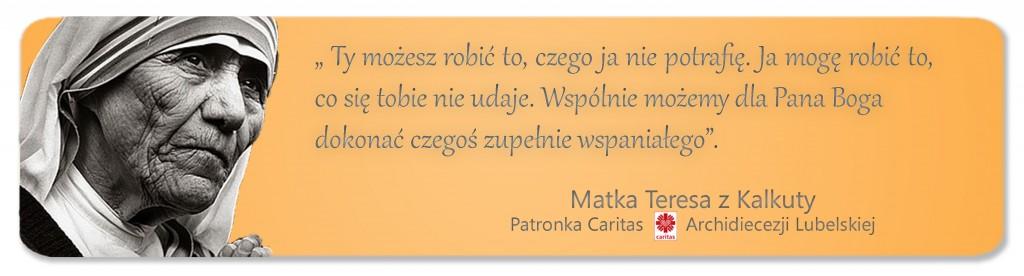 Matka Teresa Caritas