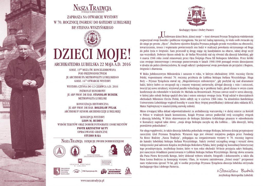 18-05-2016_Wystawa - Wyszynski_E-ZAPROSZENIE_A5.indd