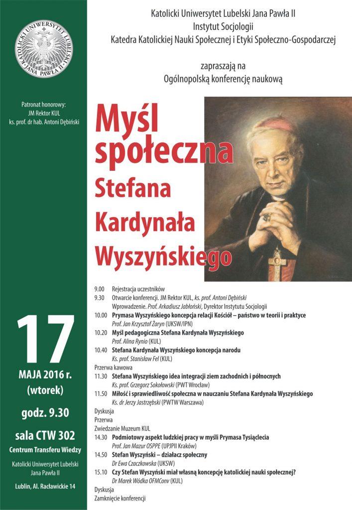 wyszynski konf 2016
