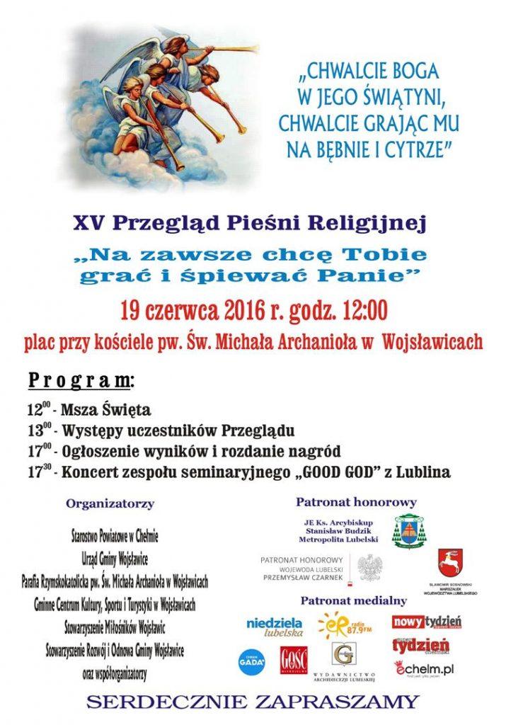XV Pregląd Pieśni Religijnej-2016