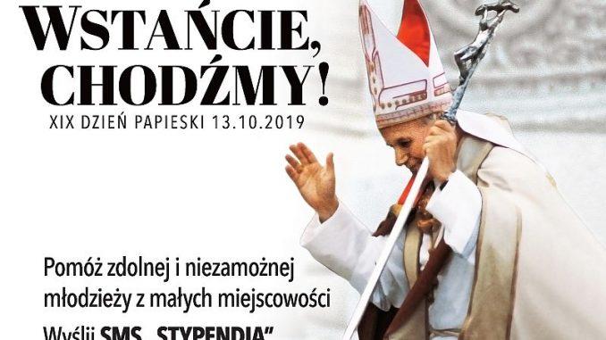 Znalezione obrazy dla zapytania dzień papieski 2019